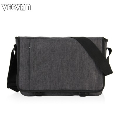 VN 2019 Designer Briefcase Men Messenger Bags Vintage Canvas Shoulder Bag Mens Buisness Bag Attache Laptop Case Office Briefcase