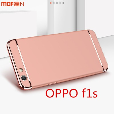 """OPPO f1s case cover luxury MOFi original oppo f1s back cover 3 in 1 joint rose gold red blue oppo a59 case capa coque funda 5.5"""""""