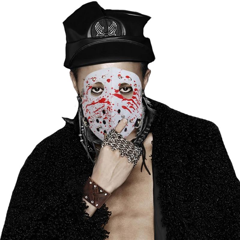 Skull Spike Rivet Stud Motorcycle Face Mask for Biker Outdoor Sports Halloween