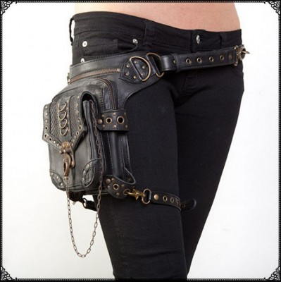 Multifunctional Military vintage Man Woman Waist Pack Weapons and Ride Leg Bag of Waterproof Drop Utility Thigh Pouch