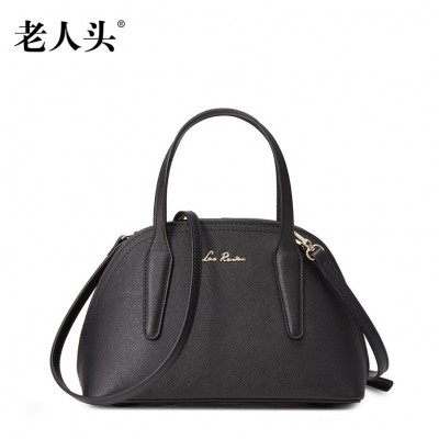 2019 New LAORENTOU brand genuine leather women bag fashion women leather handbags shoulder messenger cowhide shell bag