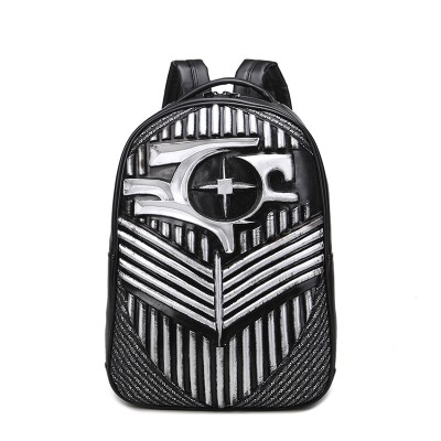 2019 Gothic Steampunk Unique backpack cool bag steampunk fashion School Backpack Bags Men Designer Teenager backpack for Boys Men Women Leather Backpack