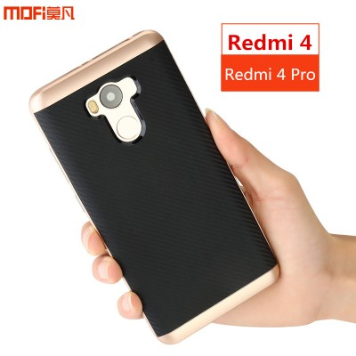MOFi Case for Xiaomi mi redmi 4 pro cover case redmi 4 cover back case prime MOFi original soft TPU PC joint capa coque funda accessories