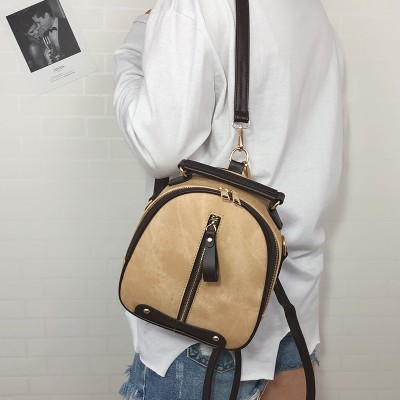 2019 new fashion female backpack shoulder bag women messenger PU leather Mini backpack for girls