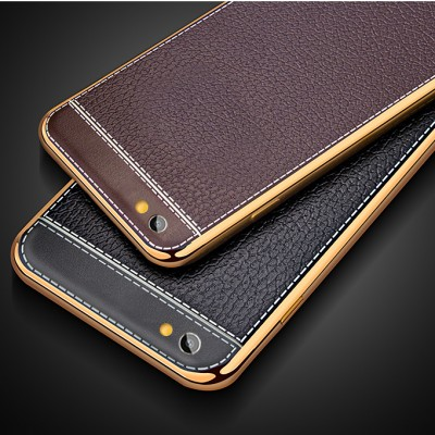 Luxury Litchi Grain Painting Soft TPU Phone Case For OPPO F1S A59 A59M Phone Bag Coque Phone case For OPPO A59