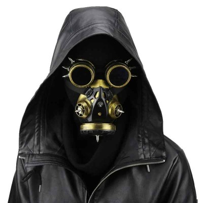 Steampunk Mask Plague Mask Steampunk Plague Doctor Mask Carnival Makeup Party Cosplay Gas Mask Steampunk Anime Halloween Costume Accessories