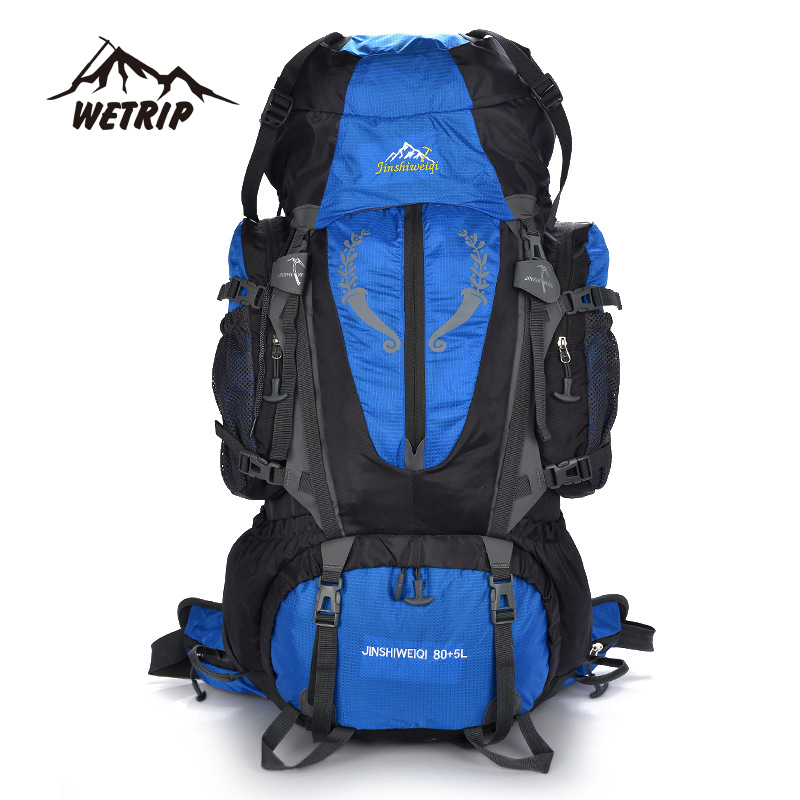 6f36286e4bba ... Large capacity Rucksacks camping sports bags 85L Outdoor Backpack Travel  Mountain climbing backpacks Hiking waterproof hiking backpack. Image 1