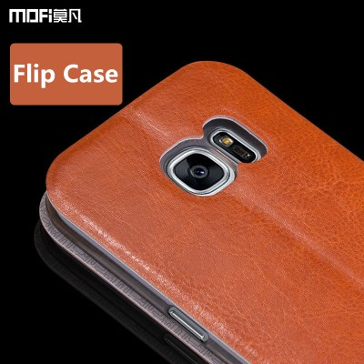 MOFI Phone Case For galaxy s7 edge case for samsung s7 case cover MOFi original PU leather flip case stand holder tpu silicone capa coque funda