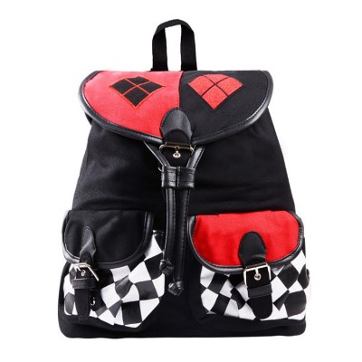 Cosplay Bag New DC Satchel Suicide Squad Comics Harley Quinn Knapsack Cosplay Backpack Comics Batman School Bag