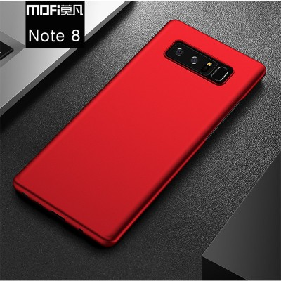 Note 8 case for samsung galaxy  note 8 case note8 cover PC hard back case rose gold blue black capa coque for SM-N950F SM-N9500