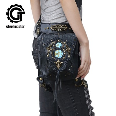Steelsir 2017 New Steam Punk Retro Rock Victorian Shoulder Bag Men And Women Messenger Fashion Travel Waist Bags Hot Selling