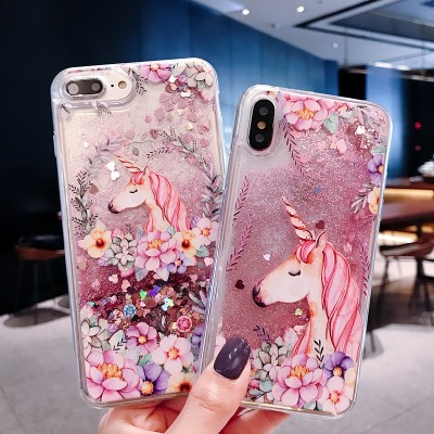 Cute Cartoon Unicorn Flamingo Phone Case For OPPO F1S F3 F5 F7 F9 R9 R9S R11 R11S Plus R15 R17 Pro Case