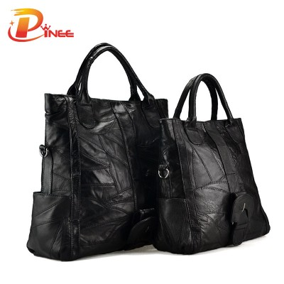 Large Small Size Female Tote Bag Famous Designer Women Handbags Genuine Leather