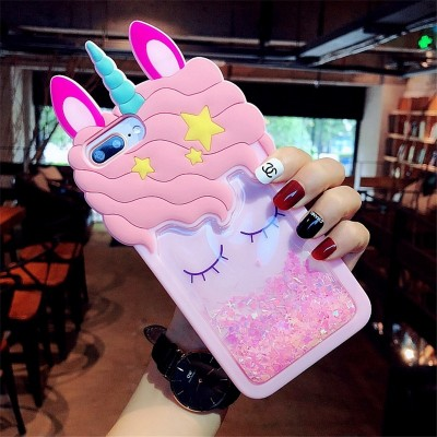 3D Cartoon Unicorn Phone Case For OPPO R9 R9S Plus R11 R11S R15 F2 F3 F5 F1S A59 A57 A73 A79 A39 A77 A37 Unicorn Case