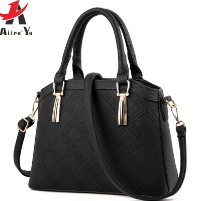 Atrra-Yo new women handbag luxury leather handbags tote women messenger bags ladies shoulder bag high quality bolsas LM3921ay
