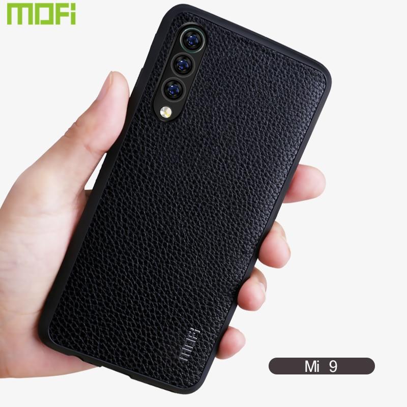 Xiaomi Mi 9 Phone Case Mofi Business Pu Leather Xiaomi Mi 9 Case Cover Back Cover Mi 9 Case