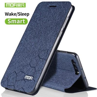 Huawei Honor 9 Case Cover Silicon Luxury Flip Leather Original Mofi Huawei honor 9 Phone Protector Transparent Tpu Back