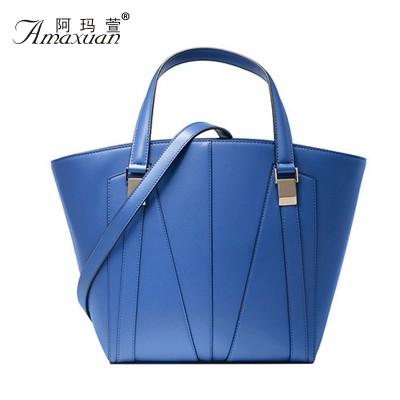 Fashion 2015 Women Big Handbag Special Women Leather Bags Patchwork Women Shell Women Leather Handbags Bolsa Feminina BH1124