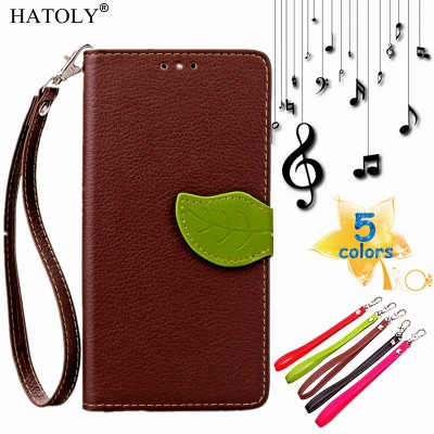 "For Xiaomi Redmi Note 3 Flip Case 5.5"" Leaf Leather Wallet Case for Redmi Note 3 Pro Wallet Cover Phone Shell Card Holder"