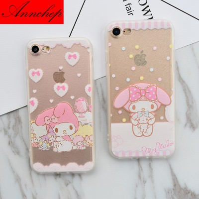 cartoon phone cases Cartoon Cute My Melody Case for iPhone 6 6s plus 5s SE Cover For iphone 6s 7 7 Plus 5s Capa Funda Coque cartoon cases