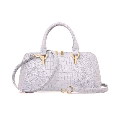 2019 New shell bag women leather handbags embossed tote bag female handbag pillow shoulder messenger bags small tote wholesale