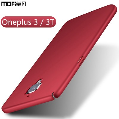 Oneplus 3 Case Oneplus 3T Case Cover Mofi Ultra Thin Black Blue Red Protective Case for Oneplus 3t for Oneplus 3 Case