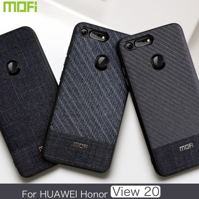 Honor View 20 Case Cover Mofi For Huawei Honor View 20 Case Fabric  Phone Case for Honor View 20