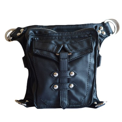 Steam steampunk punk motorcycle waist pack men women handbag messenger bag mini vintage retro rock bag