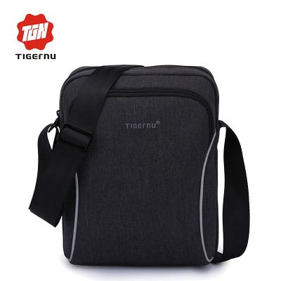 2019 Tigernu brand Casual business men splashproof messenger bag mini ipad bags crossboody bag Shoulder Bags for women