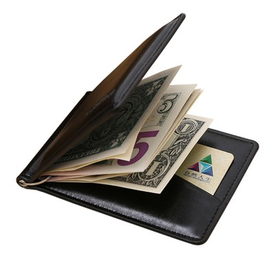 Brand Mens Leather Money Clip Mens Designer Wallet With Coin Pocket  Portable Mens Card Holder Wallet