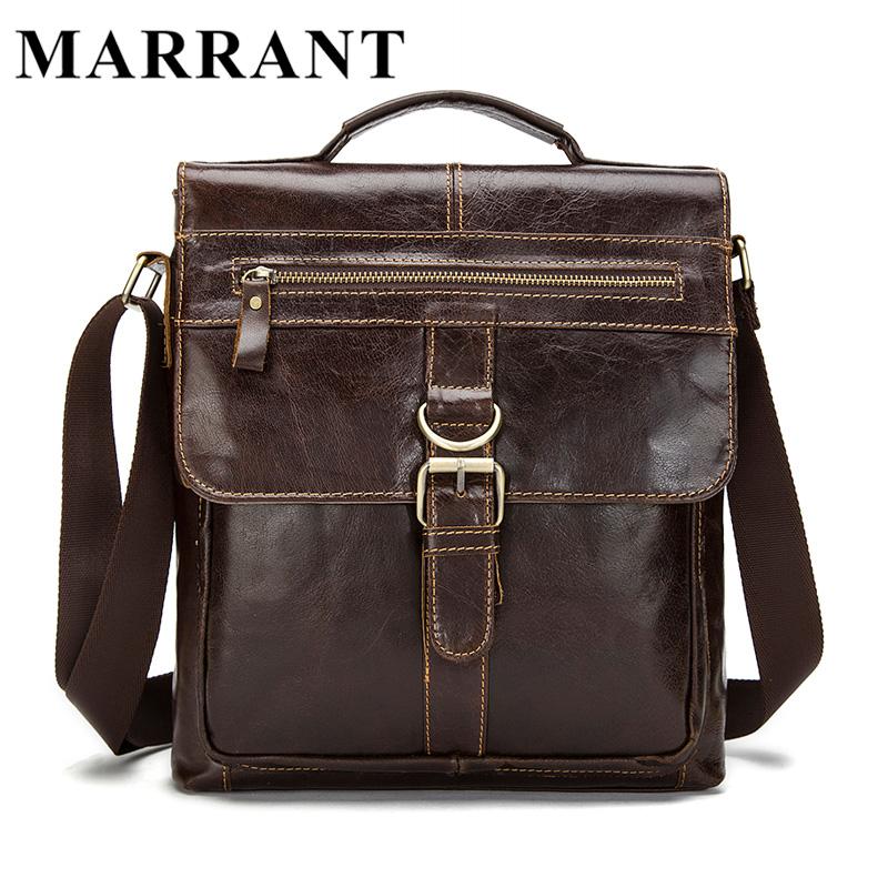 ... MARRANT Genuine Leather Men Bags Fashion Male Messenger Bags Men s  Small Briefcase Man Casual Crossbody Shoulder Handbag 1292. Image 1 2efecbe5b7b77