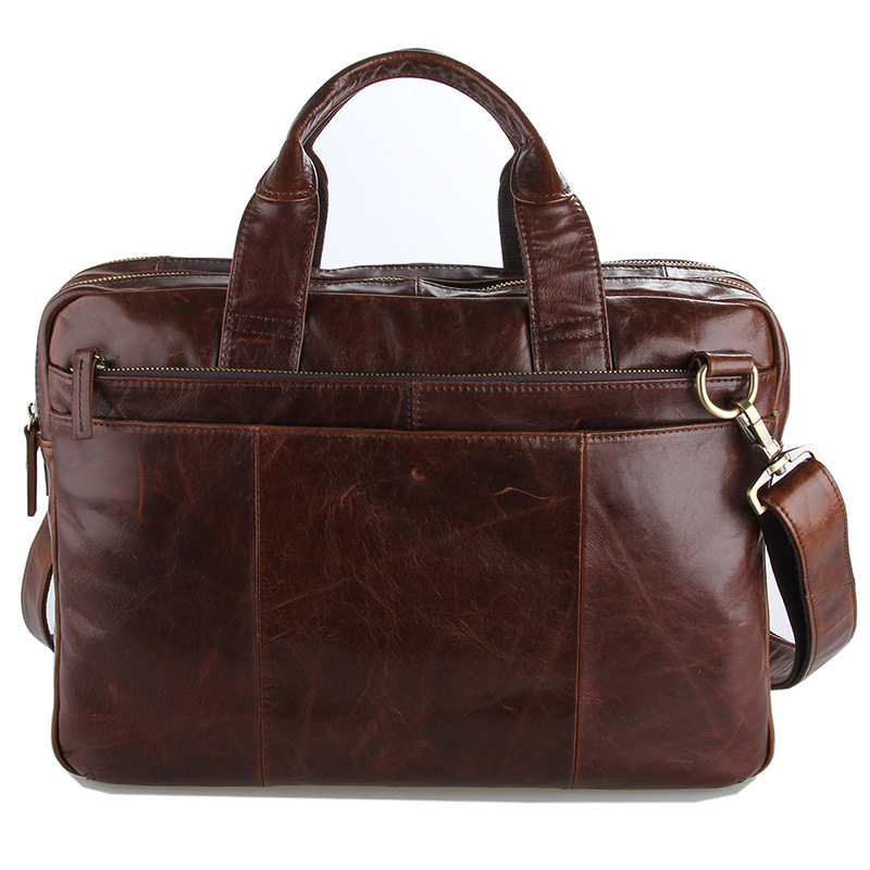 ... Genuine Leather Men Bags New Male Briefcase Man Business Laptop Bag Men  Crossbody Shoulder Handbags Mens Messenger Totes. Image 1 b847f236e00eb