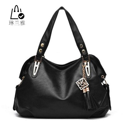 2019 female new fashion High Products Luxury Handbag Tote ladies PU Leather Hobo Shoulder Bag women Messenger Bags 6 colors Z-16