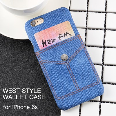 Phone Cases For iphone For iphone 6 case cover for iphone 6s back cover case MOFi original creativity originality unique Special cowboys jeans denim