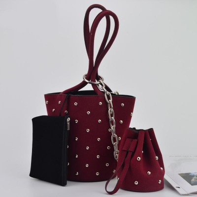 Set bags evening clutches women party bag leather clutch purse coin purses phonek bag red black original girl handbags XA364YL