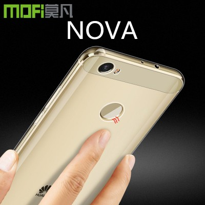 huawei NOVA case silicon soft tpu back cover mofi original transparent cover clear ultrathin huawei nova cover sillion 5 inch Phone Cases For huawei