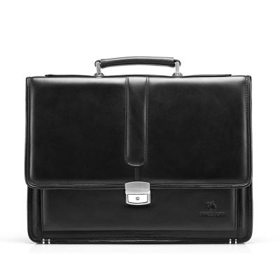Hot Men's Genuine Leather Vintage Frmal Business Lawyer  Briefcase Messenger Shoulder Attache Portfolio Tote