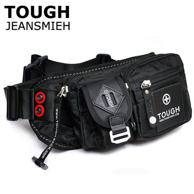 Tough man bag quality parachute material waterproof nylon male fashionable casual waist pack