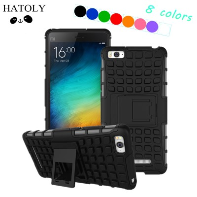 For Cover Xiaomi Mi4c Case Heavy Duty Hard Silicone Rubber Phone Case For Xiaomi Mi4i Case For Xiaomi Mi4c Mi 4i Mi 4C