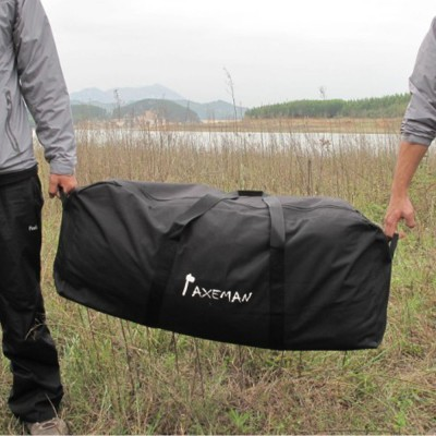 Portable Duffle Bag Large Capacity Travel Bags Car Admission Luggage Bag Waterproof Black 5 Sizes