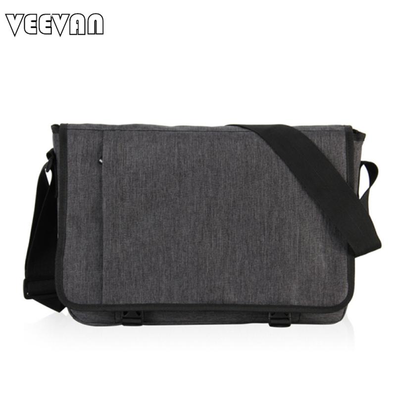 Vintage Canvas Messenger Bags Mens Travel office Briefcase Fashion Pu Leather School Teenagers Shoulder Bag,Black