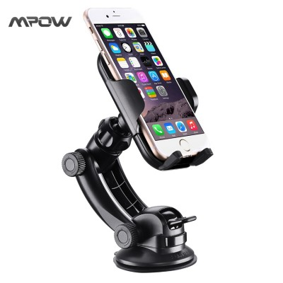 Mobile Cell Phone Holder for Car Steering-Wheel MCM12 Mpow Car Mount Grip Pro 2 Dashboard Adjustable Car Phone Holder Universal Cradle Windshield Holder Cradle