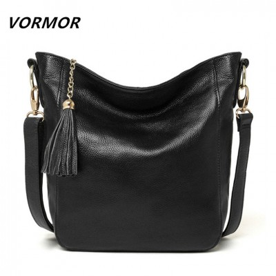 New arrival leather handbags fashion shoulder bag genuine leather cross body bags brand women messenger bags