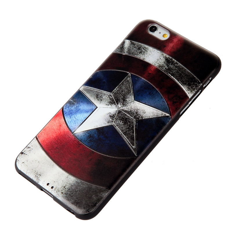 Apple iPhone 6 Back Case Cover - 3D