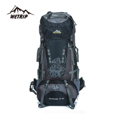 lightweight hiking backpack best day hiking backpack Large 80L Outdoor Backpack Unisex Travel Climbing Backpacks Waterproof Rucksack Mountaineering bag Nylon Camping Hiking Backpack waterproof hiking backpack