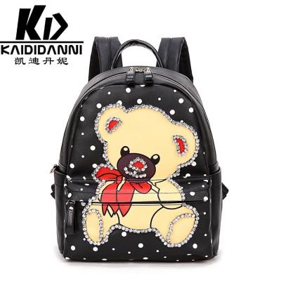 2017 backpack women cute bear mini backpack women shoulder backpack 20pcs/lot