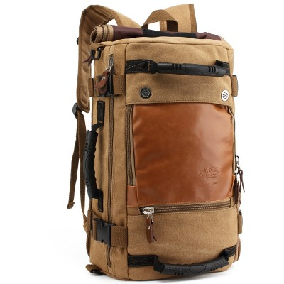 Brand Stylish Travel Large Capacity Backpack Male Messenger Shoulder Bag Computer Backpacking Men Multifunctional Versatile Bag