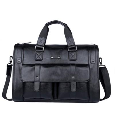 Large travel bag 2019 Necessaire men Leather duffel bag Waterproof Men handbags Weekender bag Vintage Travel organizer Mens bags