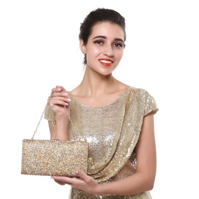 Woman Evening bag Women Diamond Rhinestone Clutch Crystal Chain Shoulder Small Purse Wedding Purse Party Evening Bags