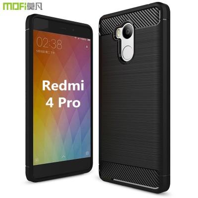Redmi 4 pro cover case Xiaomi Mi Redmi 4 pro case Xiaomi redmi 4 case MOFi original soft back case capa coque funda silicone